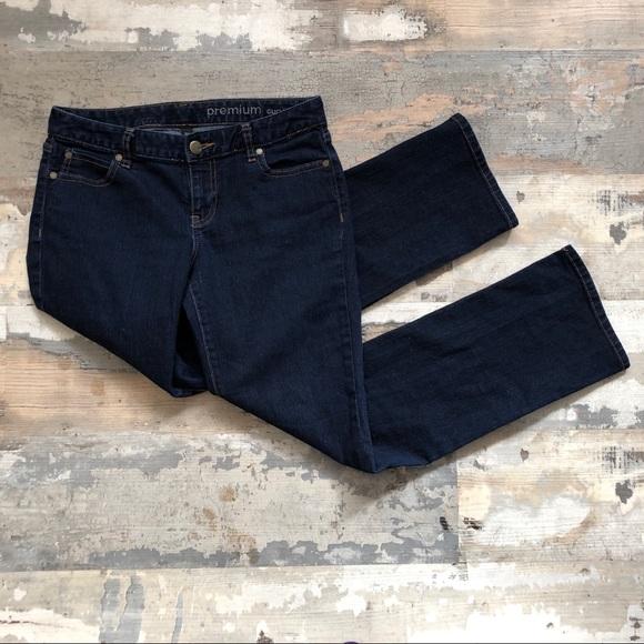 GAP Denim - Gap premium curvy straight leg jeans size 4